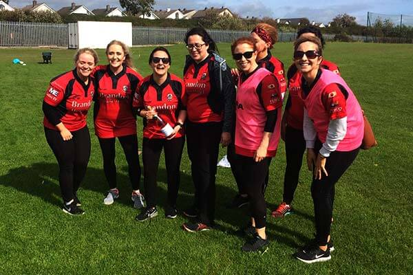 Aoife Bennett's Ladies in Red!
