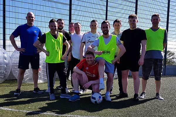 Stag Bubble Football